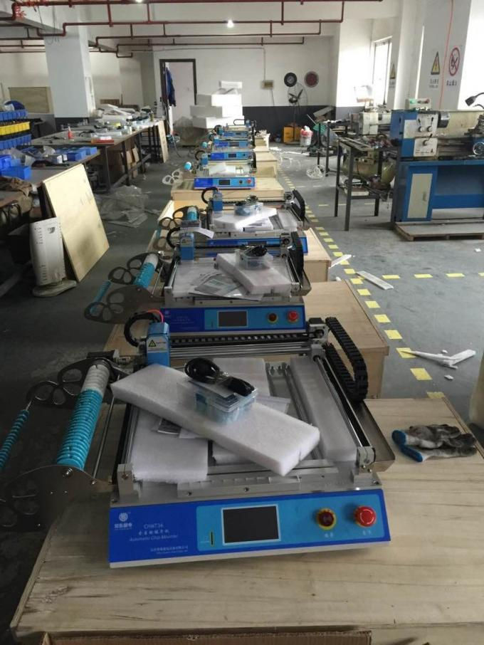 Small Desktop CHMT28 SMT Pick And Place Machine Chip Mounter LED Pick And Place Machine