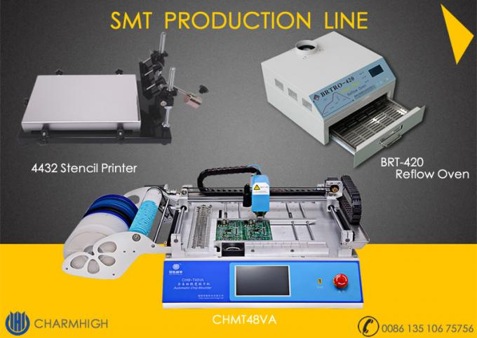 SMT Pick And Place Equipment 2500w Reflow Oven Surface Mount Technology​