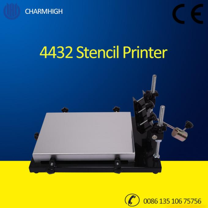 Manual Stencil Printer 4432 (320*440mm) Solder Paste Printer for SMT PCB making pick place Machine