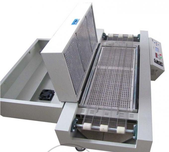 Hot! T961 Mini Reflow Oven For LED 230*730mm 6 temperature Zones 3.5KW Soldering Machine