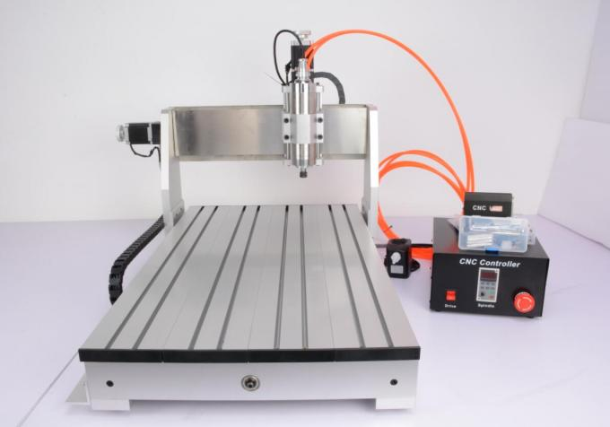 Assembly USB 3 Axis Advanced CNC Router 6040 / 1.5KW Spindle 2.2KW Invert CNC Engraver Machine