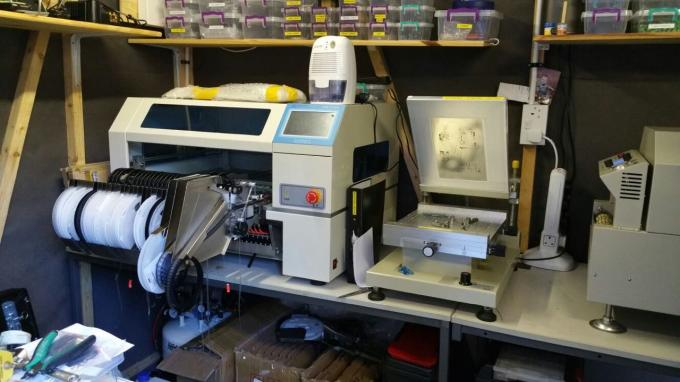 CHMT528P Feeder Machine + T960 reflow oven SMT SMD Pick And Place Machine + Vibration feeder
