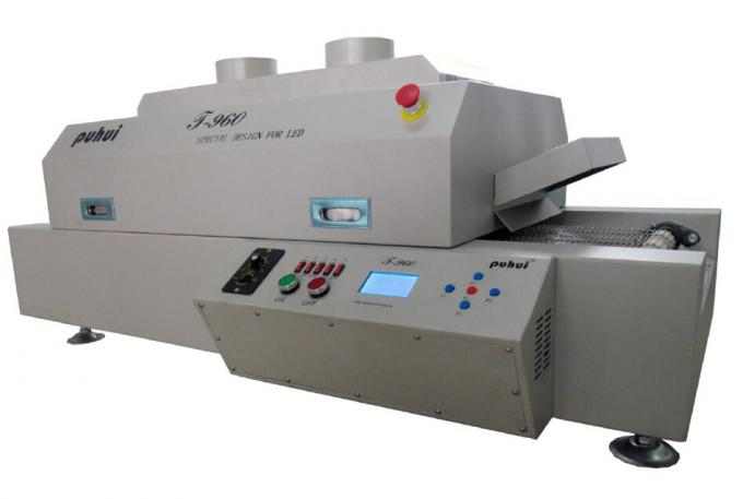 LED SMT Production Line CHMT36 Chip Mounter, Stencil Printer , Reflow Oven T960, for small factory