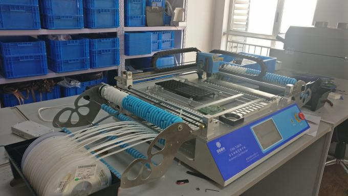 Advanced SMT Production Line, 3040 Stencil Printer / CHMT48VB Pnp machine / Reflow Oven T961