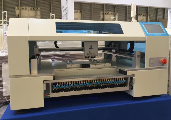 High configuration SMT Line 60 Feeders 4 heads CHMT560P4 SMT P&P Machine / Reflow Oven T961 /  Solder paste printer 3040