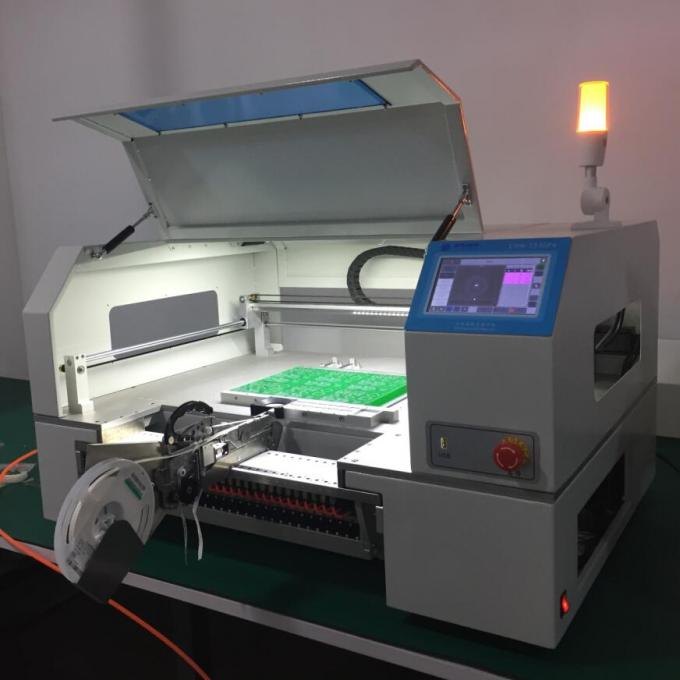 Advanced SMT production Line, 4 heads pick and place machine CHMT530P4 , 3040 Printer, T961 Reflow oven