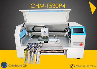 China Advanced 4 Heads High speed Desktop pick and place machine CHMT530P4  + Yamaha pneumatic feeder supplier