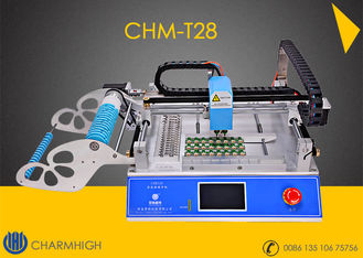 China Small Desktop CHMT28 SMT Pick And Place Machine Chip Mounter LED Pick And Place Machine supplier