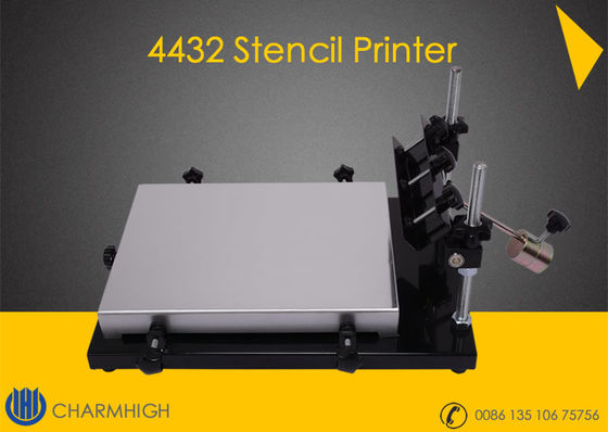 China Manual Stencil Printer 4432 (320*440mm) Solder Paste Printer for SMT PCB making pick place Machine supplier