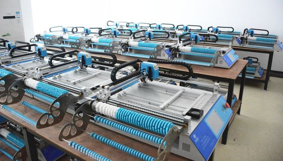 China Charmhigh Desktop SMT Pick and place Machine Small Batch production, Prototyping, Researching, Teaching.. supplier