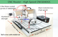 China 4th Axis CNC6040 High Speed Version Desktop CNC Router Machine for 3D Engraving factory