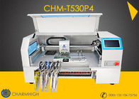 China Advanced 4 Heads High speed Desktop pick and place machine CHMT530P4  + Yamaha pneumatic feeder factory