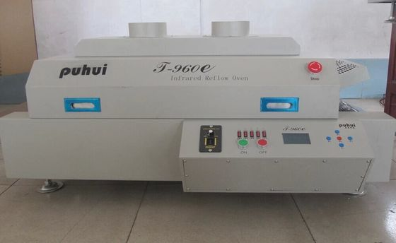 China T960E Benchtop LED / Infrared / SMT Reflow Oven BGA Infrared SMD Rework Station distributor