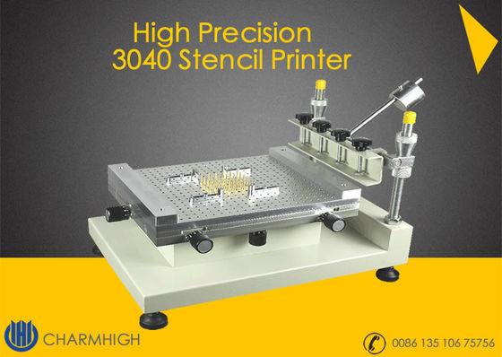 China High Precision Stencil Printer ( 3040 ) Solder paste printer Manually SMT Production line distributor