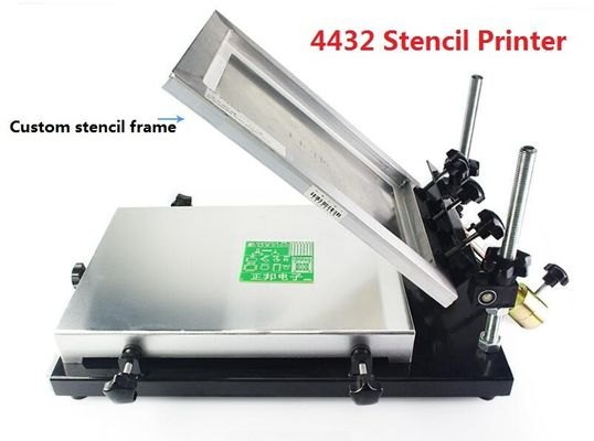 China 4432 (320*440mm) Manual Stencil Printer, Solder Paste Printer Charmhigh SMT Prodcution Line distributor