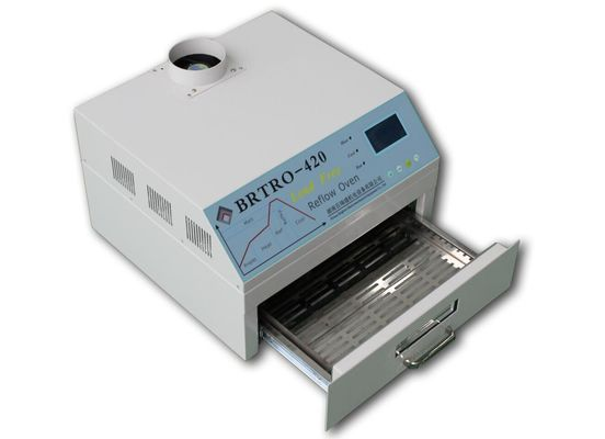 China Hot! 2500w Reflow Oven BRT-420 Charmhigh Hot air + Infrared 300*300mm Soldering Rework Station distributor